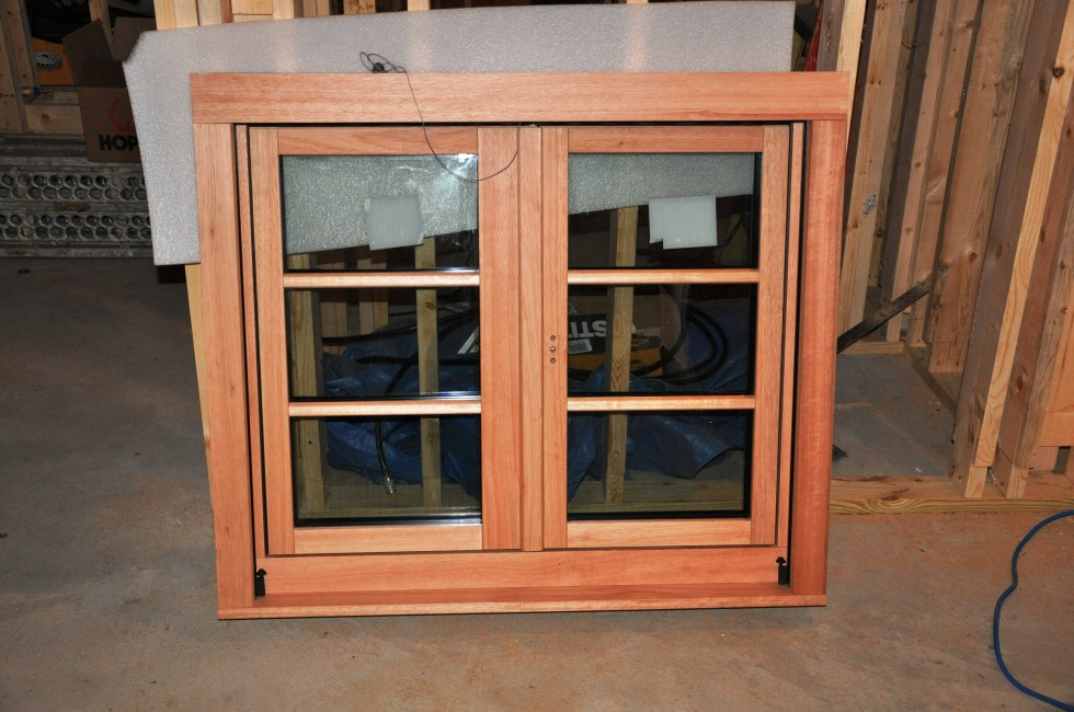 One of our beautiful triple glazed windows