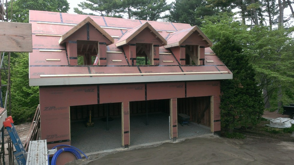 Garage East Elevation