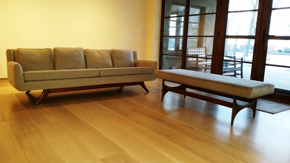 New sofa and bench